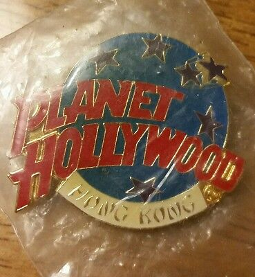 NEW Planet Hollywood Hong Kong Pin Gift Work Decoration Design Travel Special
