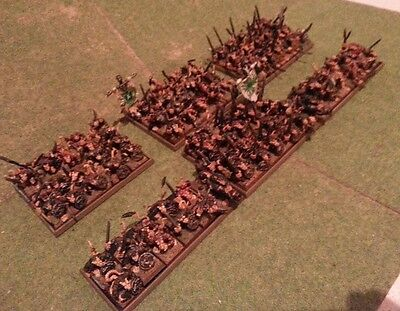 GW SKAVEN ARMY magnetised bases on movement tray suit Kings of War Warhammer AOS