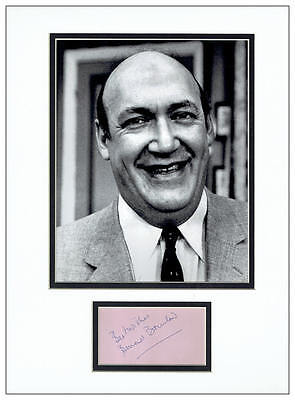Bernard Bresslaw Autograph Signed Display - Carry On - AFTAL  UACC RD