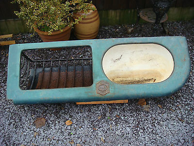 Antique Quality Stable Trough Solid Cast Iron London Makers Badge Circa 1910