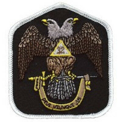 Masonis 32Nd Degree Color Embroidered Patch