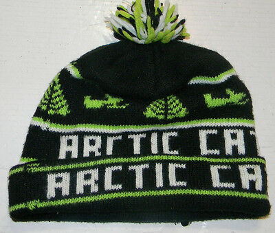 Vintage Arctic Cat Knit Beanie Hat