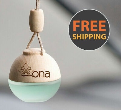 Ona Long Lasting European Scent Car Oil Fragrance Air Freshener 0% Alcohol