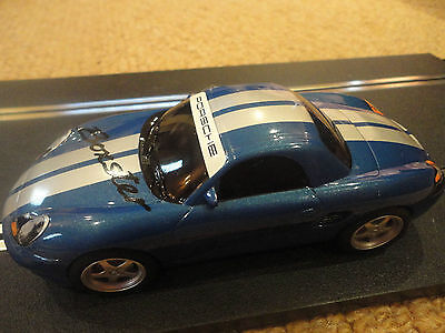 DIGITAL SCALEXTRIC : BLUE PORSCHE BOXTER CAR Superb condition only used once!