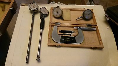 Vintage Old Measuring  Tools And  Gauges Other Machinest Items