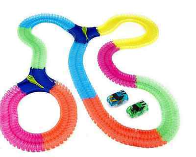 Mindscope Twister Trax Bump N Go 13ft of Spare Track + 2 Splitters. NO VEHICLES.