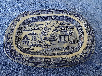 Small Willow Pattern Dish