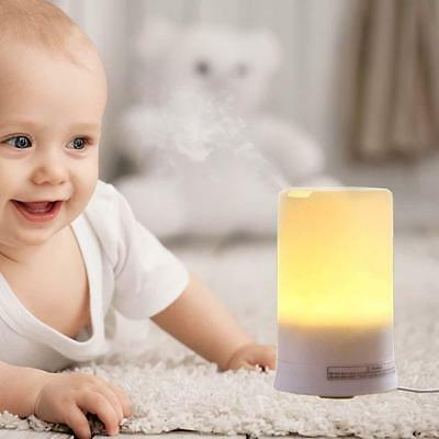 Aroma Diffuser Aromatherapy Humidifier Ultrasonic Essential LED Air Purifier GGa