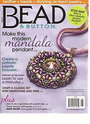 Bead & Button Magazine Issue 133 June 2016