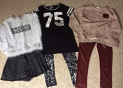 Girls Bundle Of Clothes Age 9-10
