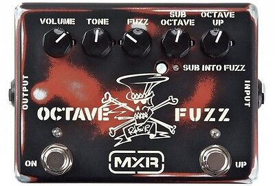 MXR Dunlop SF01 Slash Octave Fuzz Guitar Effects Pedal - In Box