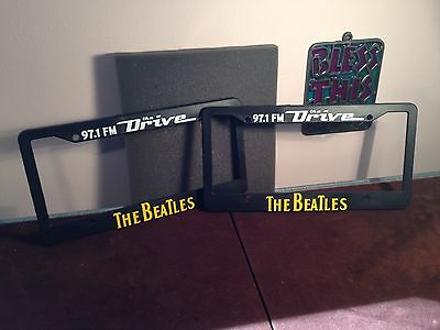 The Beatles Plastic Car Automobile Truck Van License Plate Frames One Pair
