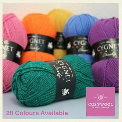 Cygnet Chunky Cheap 100% Acrylic Knitting Yarn / Wool 100g