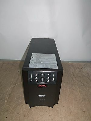 APC SUA1000I 1000VA UPS Battery Backup 8 x IEC13 USB - NO BATTS - Working !!