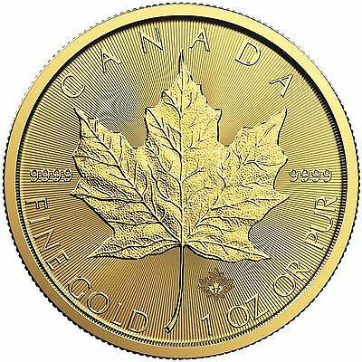 2017 1oz Canada Gold Maple Leaf BU
