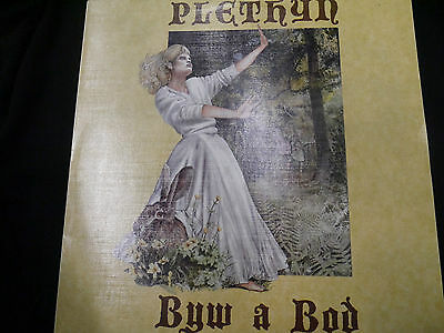 PLETHYN byw a bod ORIG UK SAIN FOLK LP 1987 PERFECT+INS MINT!
