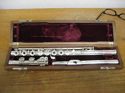 Original Solid Silver Louis Lot (Paris) Flute