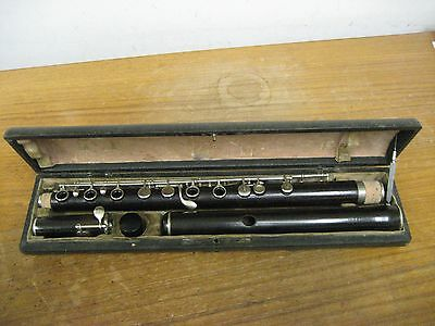 Original First Generation Wood Louis Lot (Paris) Flute, A 435.