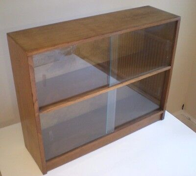 Vintage Odhams Solida Bookcase, Glazed Fronted Bookcase, , Mid Century Display