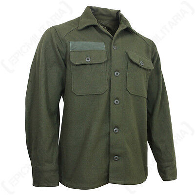 Original US M51 Wool Shirt - Korean War Army Military Surplus 1950's