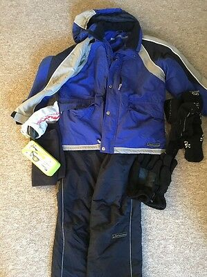 Ladies Ski Outfit & Goggles - Size 14