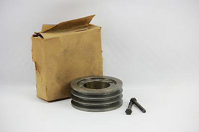 """Browning 33V365SH Sheave Fixed Pitch 1.5"""" 3-Groove 3.65"""" OD Iron for 3V Belt"""