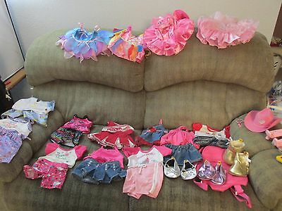 Huge Lot Of Build A Bear Workshop Girl Clothes, Shoes, And Accessories Babw