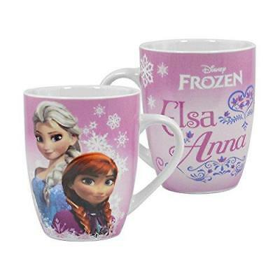 Frozen Pink Elsa & Anna Ceramic Barrel Mug New Gift Cup Boxed Disney