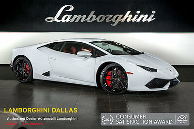 2016 Lamborghini Huracan  BICOLOR SPORTIVO+NAV+RR CAM+PWR HEATED SEATS+LIFT SYS+SPORT EXHAUST