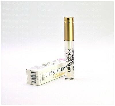 TOO FACED Lip injection Extreme Plumping Lip Gloss Full Size 4g 100% Genuine