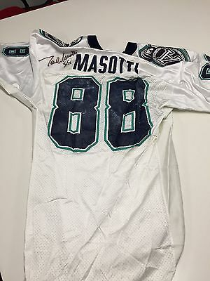 Paul Masotti Game worn and autographed Toronto Argo Jersey #88