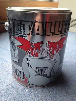 Metallica Trash can = fan can from Metallica club with broken knob, master pick