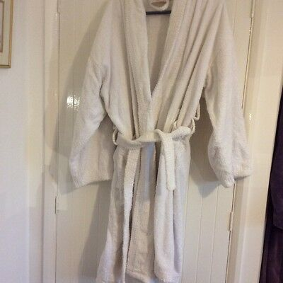Towelling dressing gown Size Large