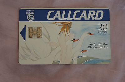 Collectable Phone Callcard - Aoife And The Children Of Lir