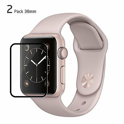 Apple Watch Screen Protector, Jelly Comb 38mm Tempered Glass Film Screen [Full