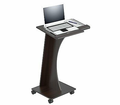 NEW Lectern Book Stand Portable Adjustable Rolling Pulpit Podium Church School