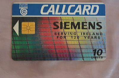 Collectable Phone Callcard - Siemens