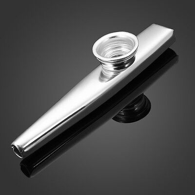 New Andrew Metal Kazoo Best Companion With Ukulele Guitar Gold Silver
