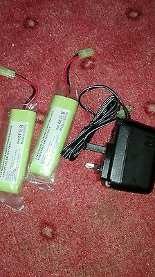 airsoft batteries plus charger
