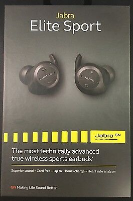 JABRA Elite Sport Wireless In-Ear Headphones - Nero