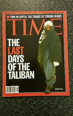 Time Magazine Vol 158 No 25:17th Dec 2001 - The Last Days Of The Taliban