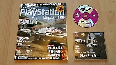 Official Playstation Magazine Issue 47 - July 1999 + Demo Disc