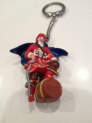 Captain Morgan Key Chain Latch Style Ring Captain With Barrel