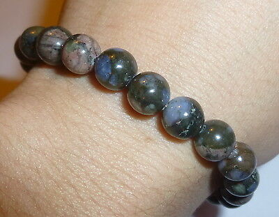 """Powerful Rare Que Sera Stone """"unlimited Power Supply"""" Natural Crystal Bracelet"""