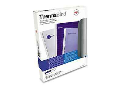 GBC Standard Thermal Binding Cover 12 mm A4 - Pack of 25, White