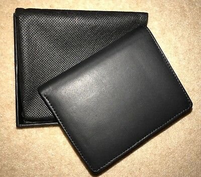 Men's Beautiful Black Genuine Leather Wallet- New