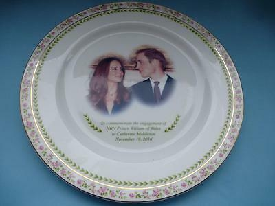 Royal Doulton William & Catherine Royalty Collectors Plate
