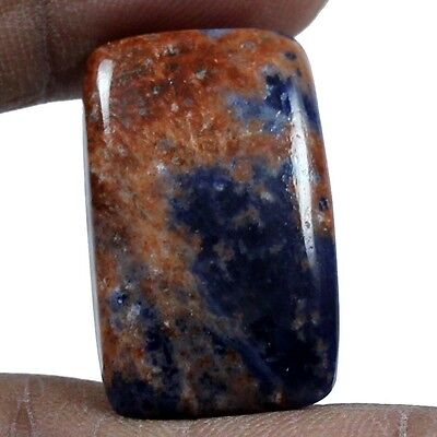 23.95 cts Natural Sodalite Loose Gemstone Beautiful Quality Octagon Cabochon