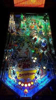 Baywatch/Funhouse/Fish Tales  Pinball trough light