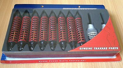 New Pack of 8 Traxxas Big Bore Aluminium Shocks XX-Long 4962 – T-Maxx / E-Maxx
